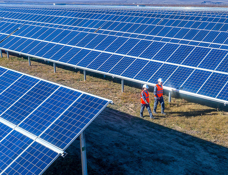 Participating in a solar development project offers a boost to the local community by reducing dependence on fossil fuels as the sole source of power for homes and businesses.